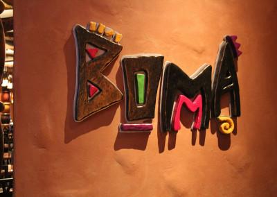 AKL Boma sign