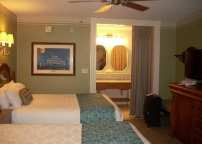 Port Orleans Riverside Room 1