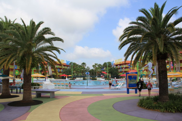 Disney World's Pop Century Resort