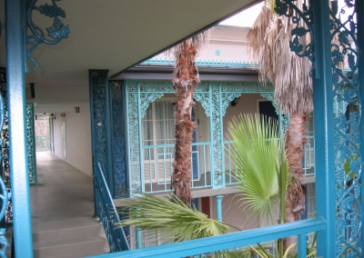 French Quarter Upper Hallway