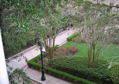 French Quarter garden