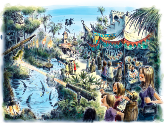 Pirates Adventure: Treasures of the Seven Seas coming to Magic Kingdom