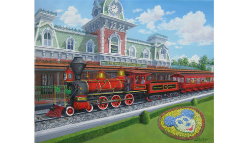 Artist Appearance at Disney World: Larry Dotson