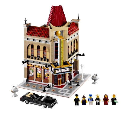 New Lego Palace Cinema for Grauman's Chinese Theater Fans