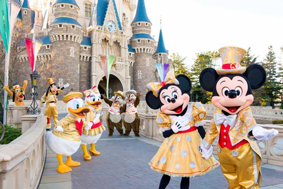 Tokyo Disney Resort Marks 30 Years April 15th