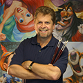 Disney Artist Showcase events with Greg McCullough