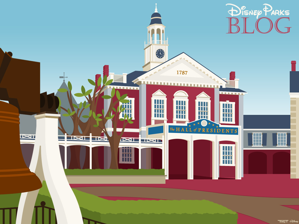 New Hall of Presidents Wallpaper