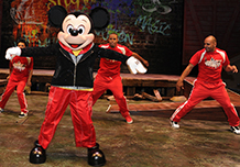 Limited Time Magic: Mickey's America Street Beat