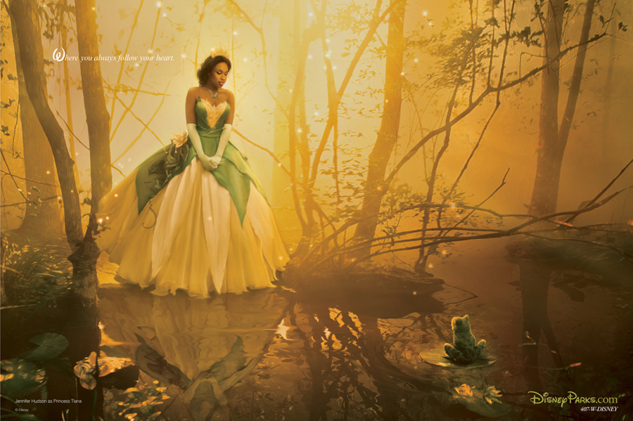 Tiana and Other Disney Dream Portraits by Annie Leibovitz