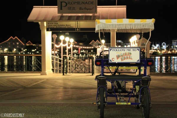 Pedal Carts at Boardwalk ©Pixie Dust Daily
