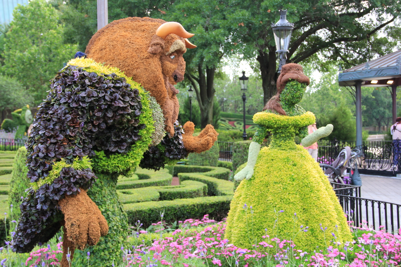 Epcot international flower and garden festival 2015 guide for Decoracion de jardines y parques