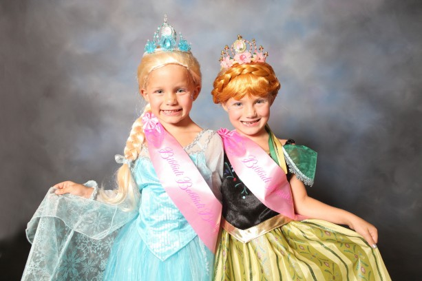 New Anna and Elsa Frozen Styles at Bibbidi Bobbidi Boutique