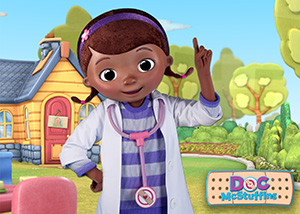 Doc McStuffins at Hollywood & Vine Play n Dine Character Meals ©Disney