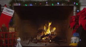 Disney Yule Log Video