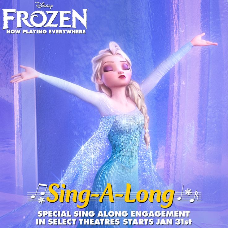 Frozen Debuts Sing Along Version in Theaters January 31st