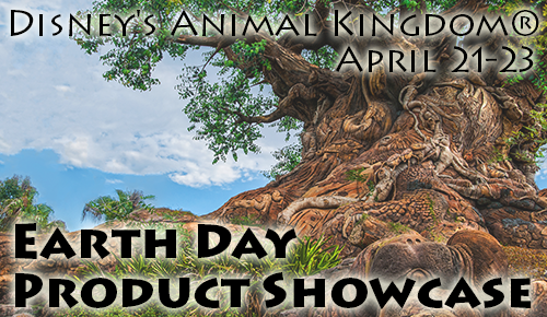 Earth Day Product Showcase 2014 Disney's Animal Kingdom