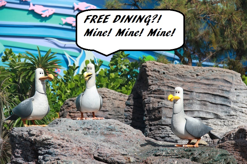 Disney World Free Dining Offer 2017