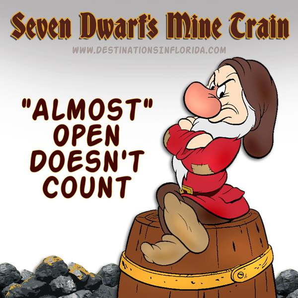 Seven Dwarfs Mine Train Full Ride Video