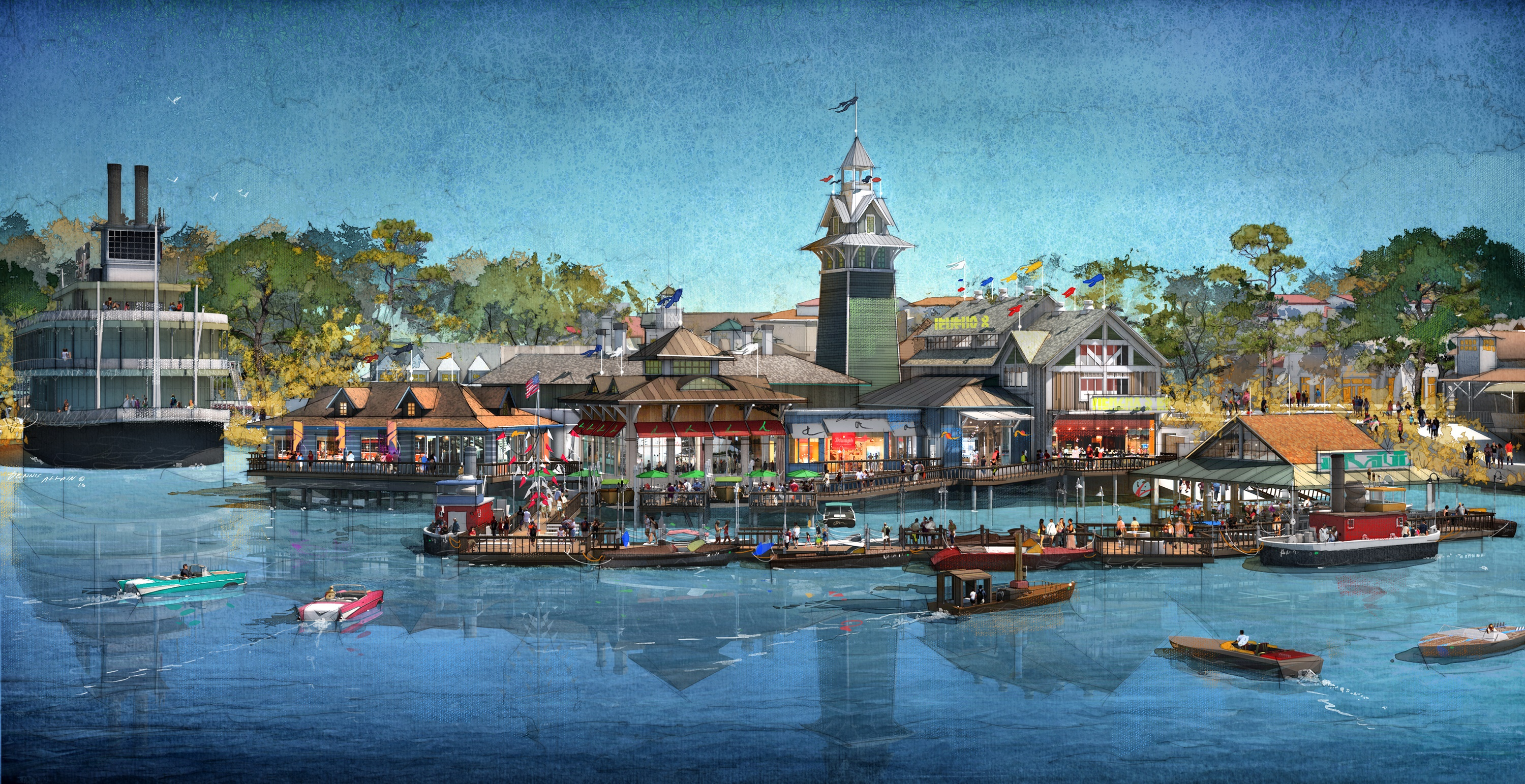 BOATHOUSE Restaurant will Bring Food and Entertainment to Disney Springs