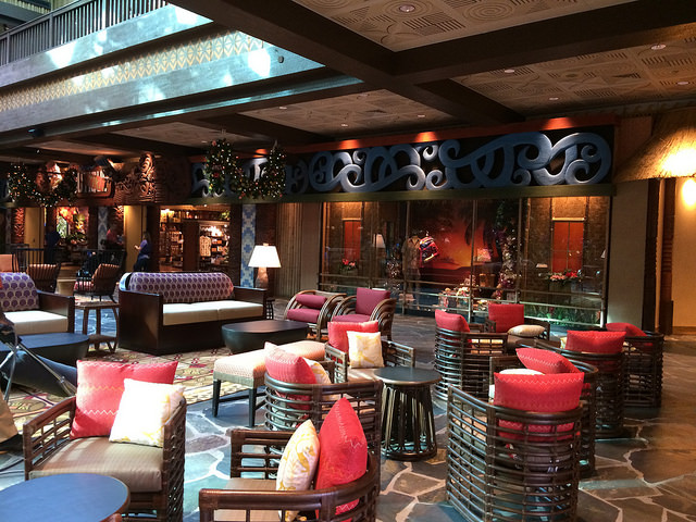New Polynesian Village Lobby Pictures