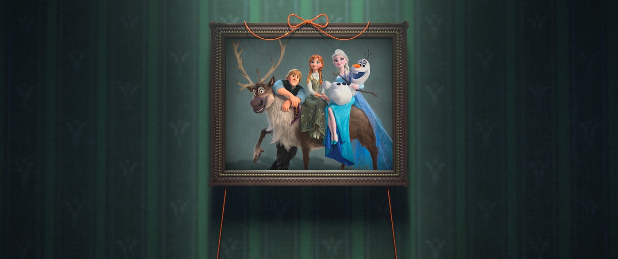 Images from the New Frozen Fever Short