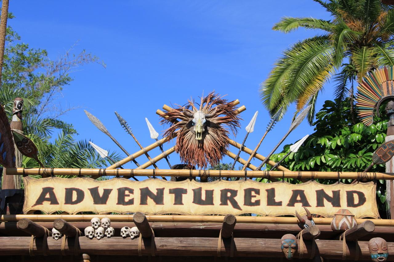 Adventureland Verandah Restaurant Construction
