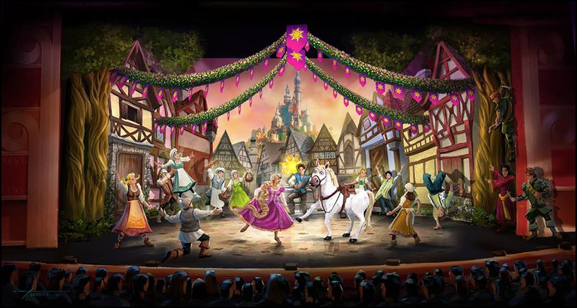 Tangled Stage Show Coming to Disney Cruise Lines