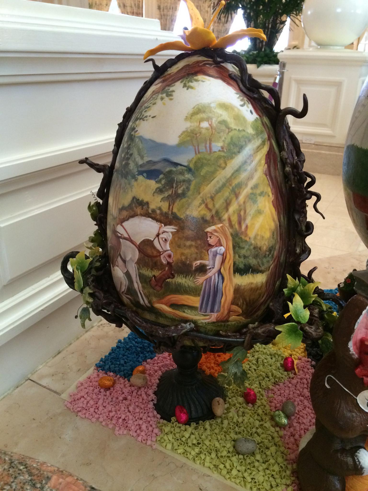 Disney's Grand Floridian Resort Easter Eggs Display 2015