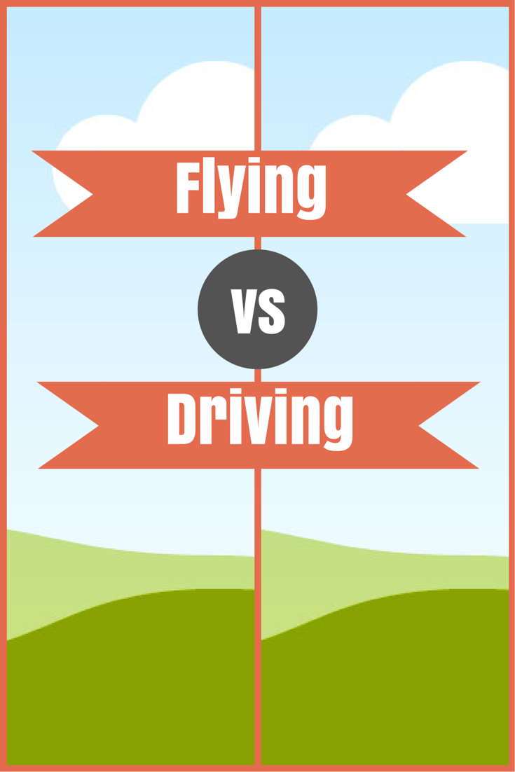 Driving versus Flying to Disney
