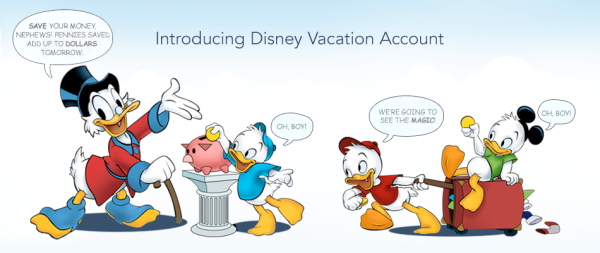 Disney Savings Account ©Disney