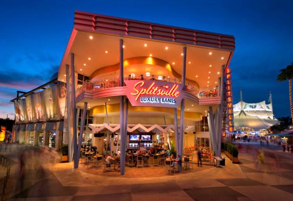 Splitsville Orlando exterior ©Splitsville
