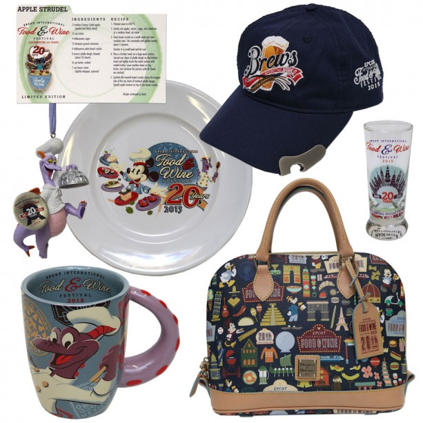 Huge Merchandise Selection for the Food and Wine Festival