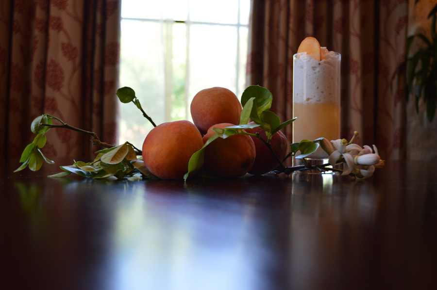 Disney World Recipe: Floridian Peaches and Cream Cocktail