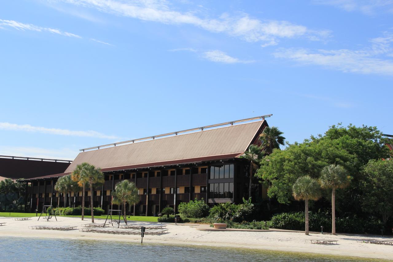 Polynesian Village Club Lounge Tour