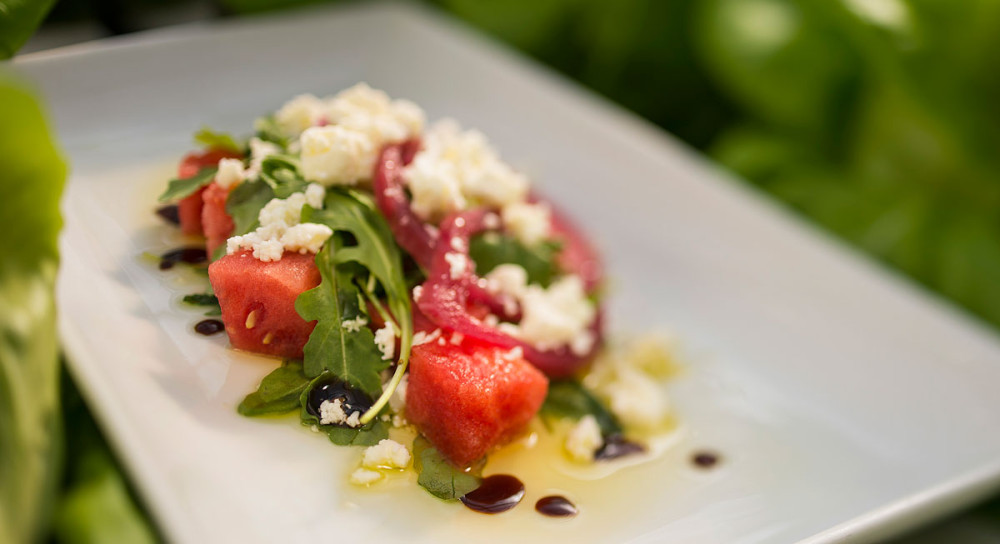 Disney World Recipe: Watermelon Salad