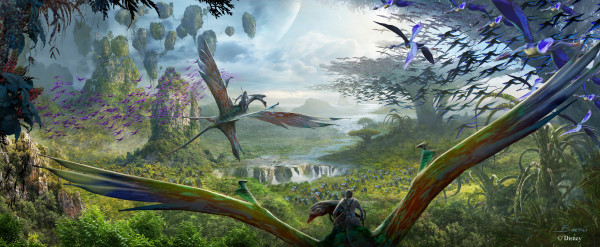 AVATAR Land Flight of Passage Ride Concept Hi Res ©Disney