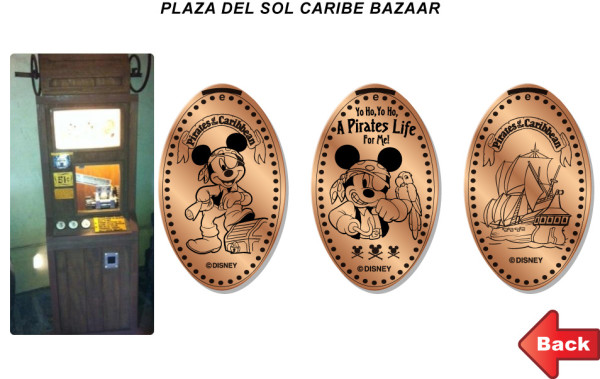 Disney World Pressed Coins ©Create The Memories