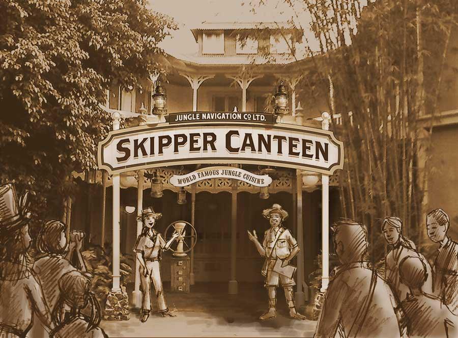 Jungle Cruise Skipper Canteen