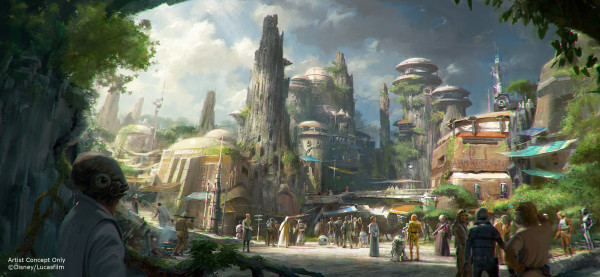 Star Wars Land Concept 1 Hi Res ©Disney