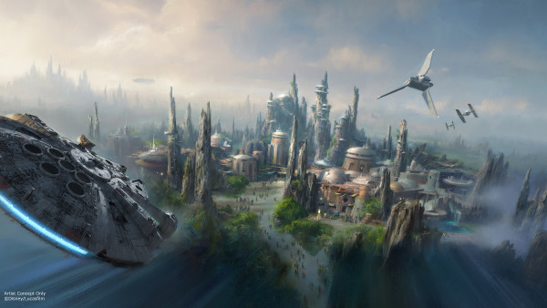 Star Wars Land Concept 2 Hi Res ©Disney