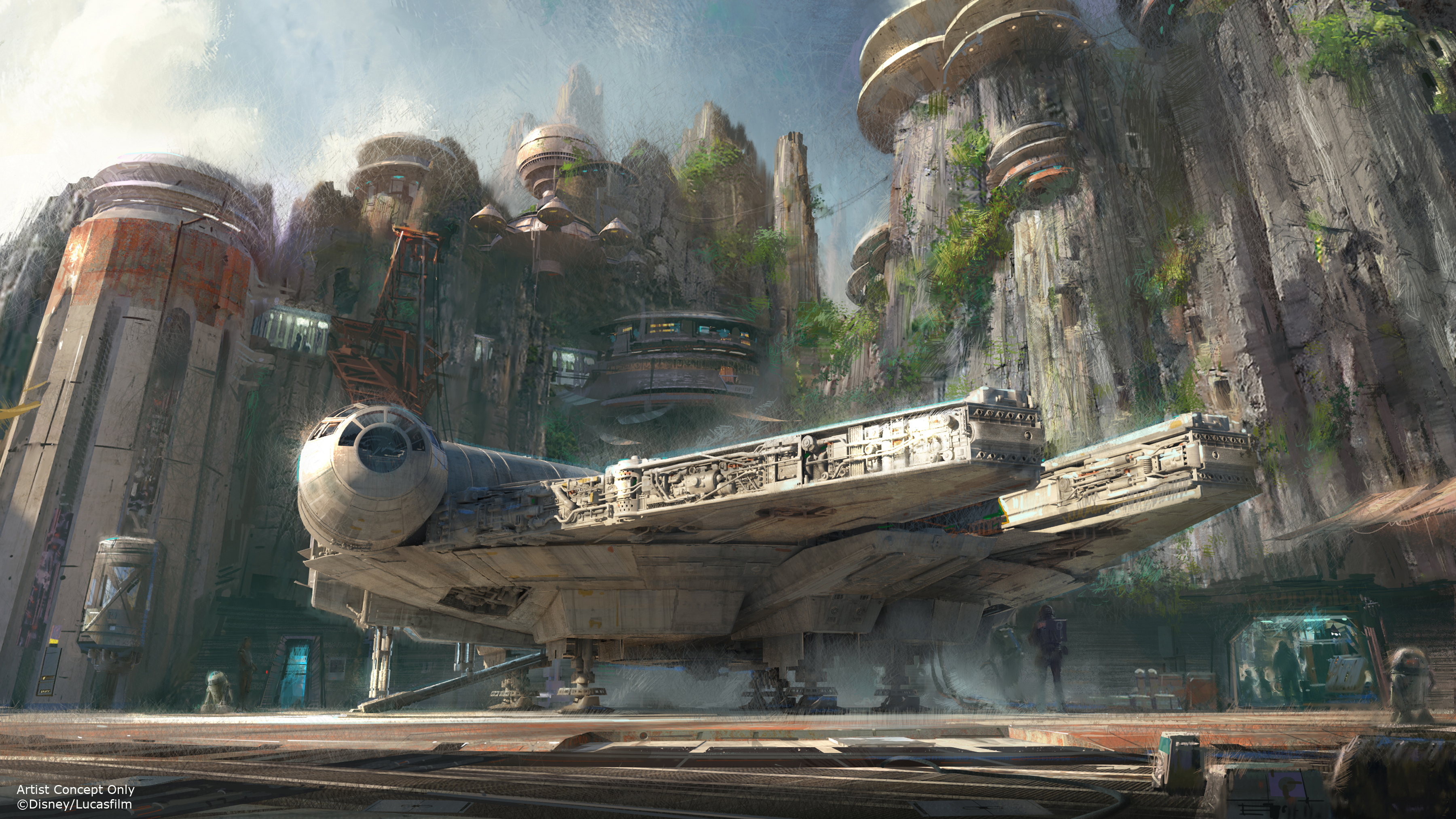 Imagineers and LucasFilm Designers Talk about New Lands