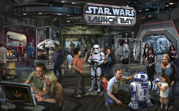 Star Wars Launch Bay Concept Hi Res ©Disney