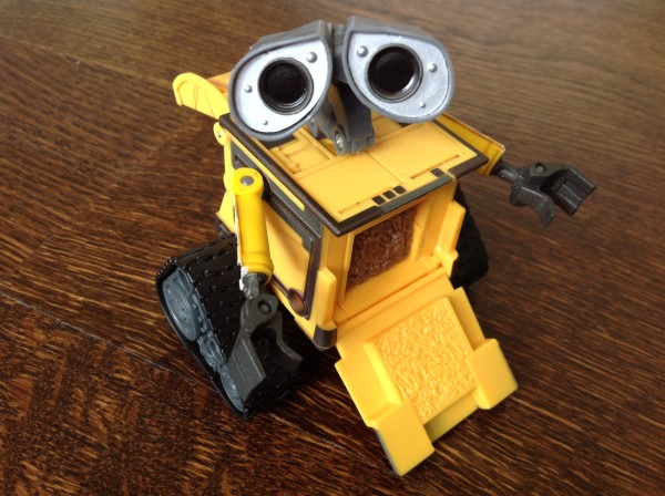 Thinkway Toys WALL-E front open