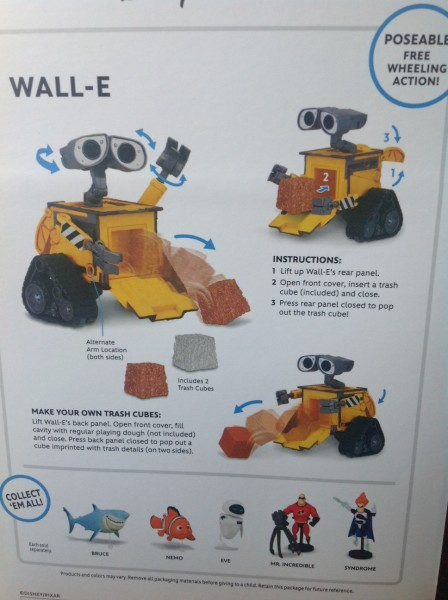 Thinkway Toys WALL-E package back ©PixieDustDaily