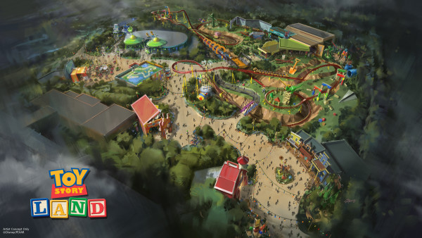 Toy Story land Concept Hi Res ©Disney