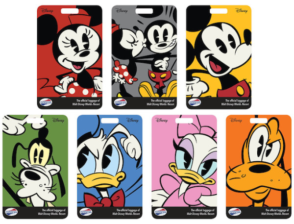 Disney Luggage Tags ©Disney