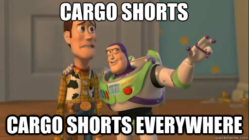 Cargo Shorts: One Man;s Dream