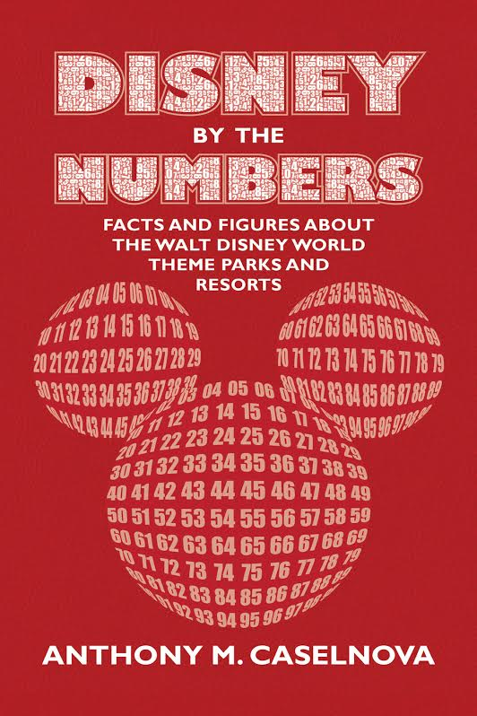New Disney By The Numbers Book Released