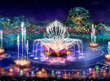 Sneak Peak of Disney's New Rivers of Light Show