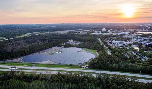 Disney World Adds Mickey Shaped Solar Farm